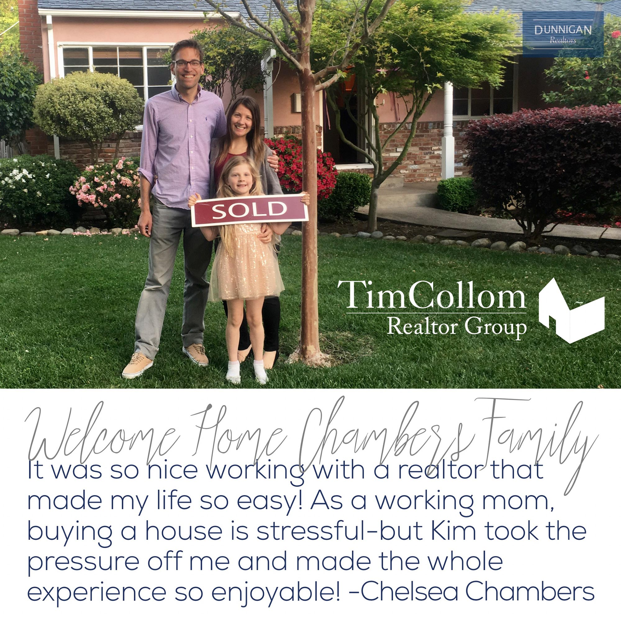 Tim Collom Realtor Group Testimonials
